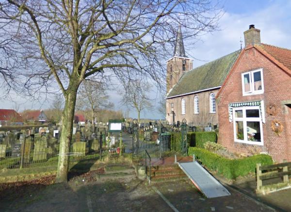 Het sierhek bij het kerkhof van Lekkum (2009)