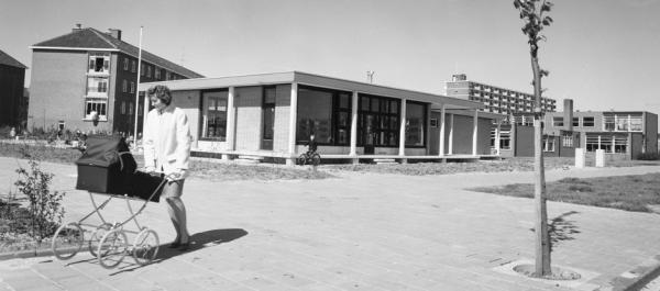 Kleuterschool aan de Volendammerweg in Amsterdam, eind jaren 70