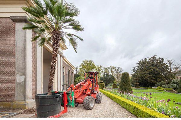 Groenaanleg bij Landgoed Twickel in Ambt Delden