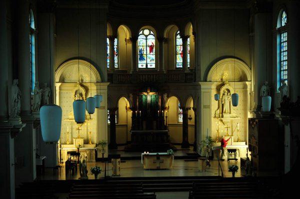 Fotoproject in de Hartenburgkerk te Leiden