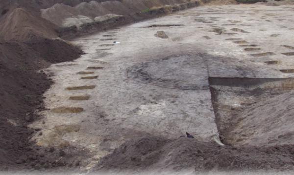 Sporen van Romeinse boerderijen in Helmond
