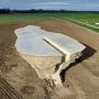 Landschapskunstwerk in Dronten als herinnering aan vorming van Flevoland