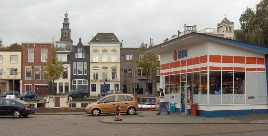Utrechters winnen ontwerpwedstrijd voor herontwikkeling Dudok-tankstation in Groningen