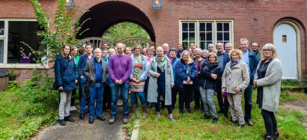Bijeenkomst Monumenten Community bij het Poortgebouw in Leersum