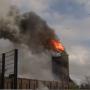 Kerk Hoogmade volledig verwoest na grote brand