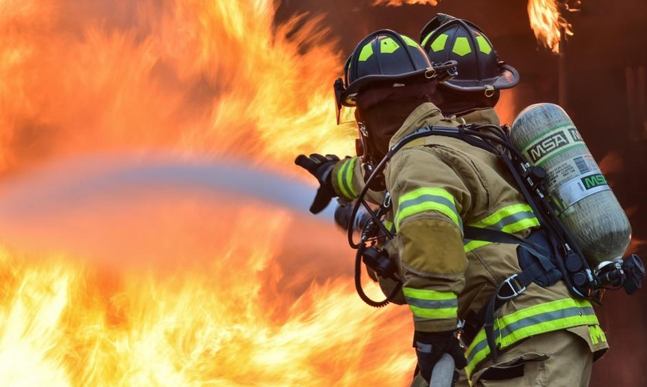 Poster van RCE voor brandveiligheid in kerken