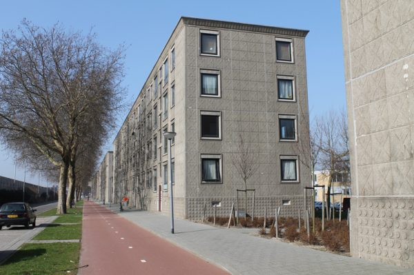Flats aan de Oost-Sidelinge in Rotterdam