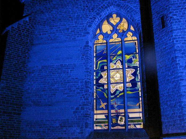 Glas-in-loodraam van Oude Calixtuskerk, Groenlo