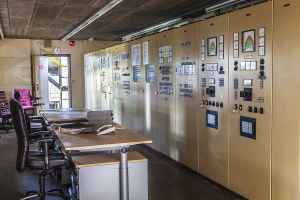 STEG controlekamer Dongecentrale Geertruidenberg