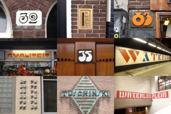 Amsterdamse letters en cijfers