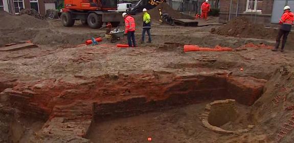 Opgravingen van kapel in Den Bosch