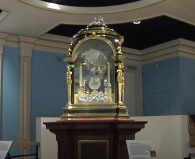 De orgelklok van Charles Clay
