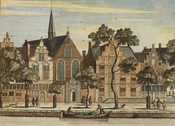 Eerste bibliotheek van Amsterdam in de Nieuwe Kerk