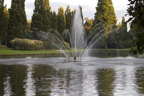 Oosterpark in Hoogezand