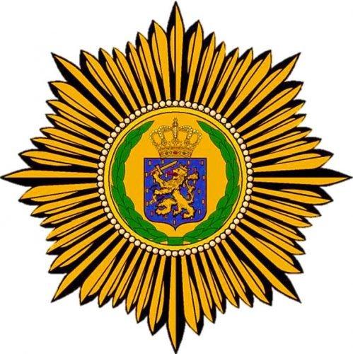 Wapenschild van het Koninklijk Nederlandsch-Indisch Leger (KNIL)