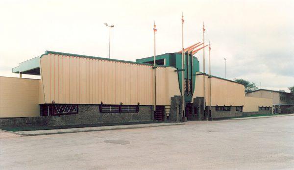 De Dudok Tribune in Hilversum