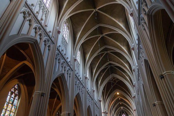 Gewelf van Heuvelse Kerk in Tilburg