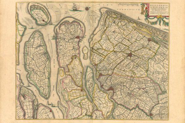 Historische kaart van Zeeland