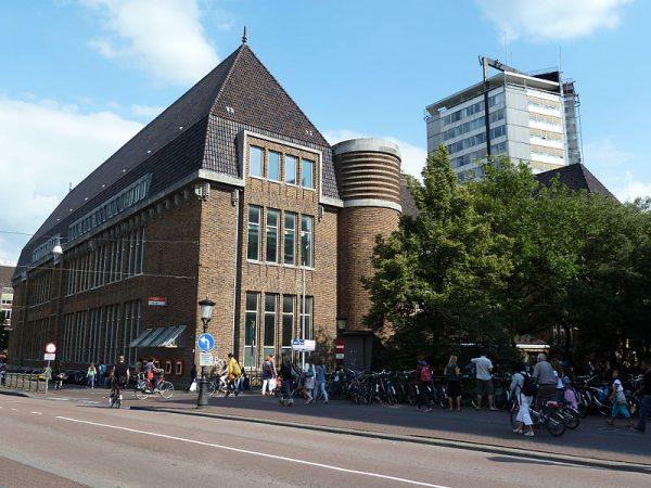 Voormalig postkantoor aan de Potterstraat in Utrecht