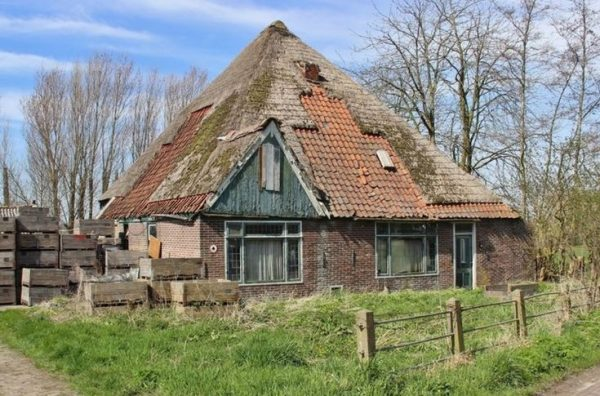 Een Noord-Hollandse stolp.