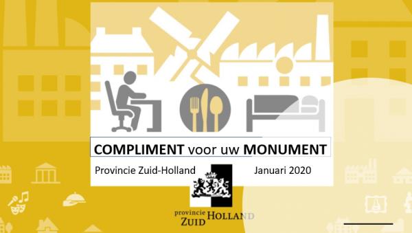 Compliment voor het Monument
