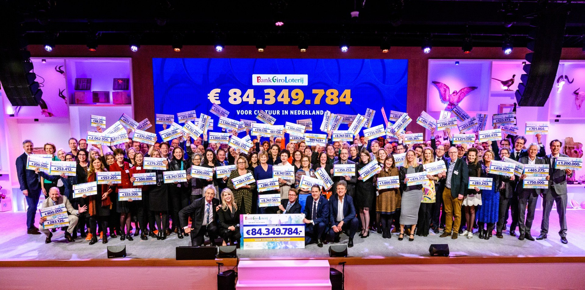 Goed Geld Gala 2020: € 84,3 miljoen voor cultuur en erfgoed in Nederland