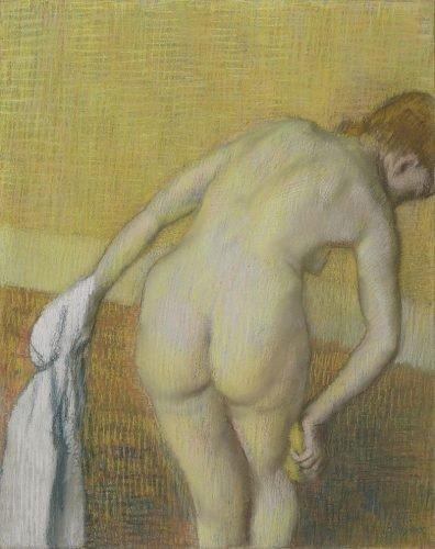 Badende vrouw, Degas