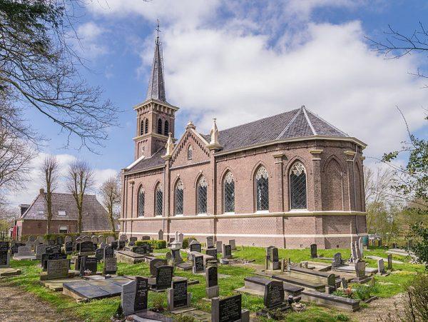 Nicolaaskerk Cornjum in 2015.