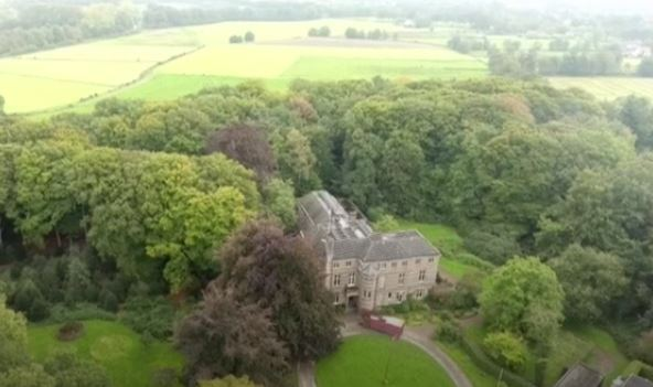 Landgoed Stoutenburg bij Leusden.