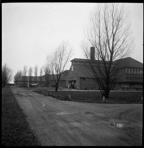 Quarantaine-inrichting Heijplaat in 1946