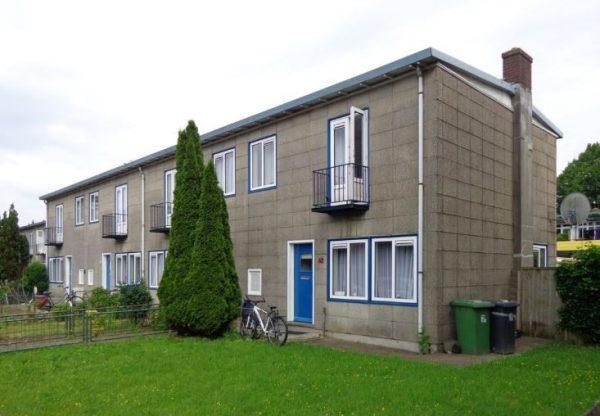 Wederopbouwwoningen in de wijk Griffensteijn in Zeist.