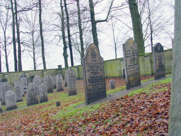 Joodse begraafplaats Elburg.