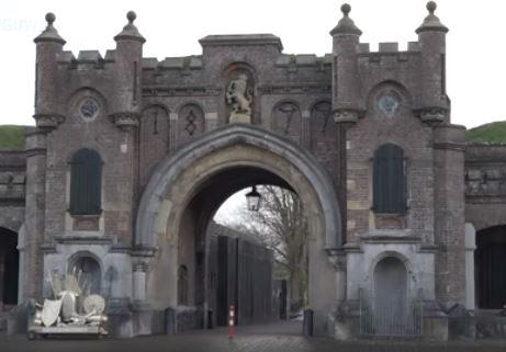 Utrechtse Poort in Naarden.