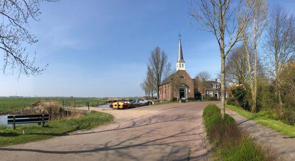 Het kerkje van Elahuizen