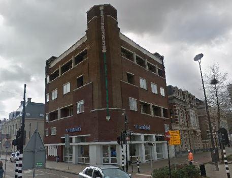Hotel Central Tilburg.