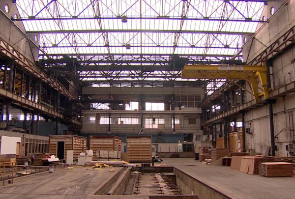 Voormalige machinefabriek in Vlissingen