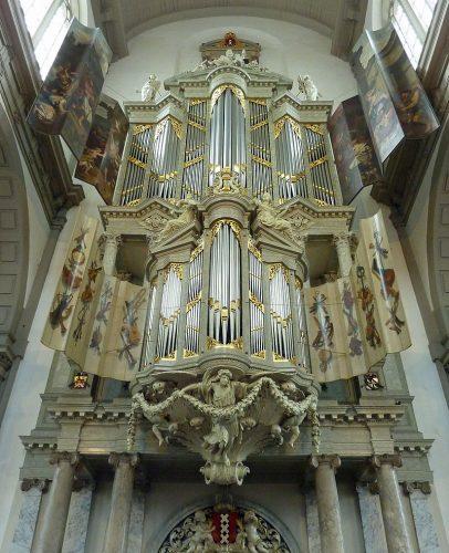 Duyschot-orgel in de Westerkerk in Amsterdam