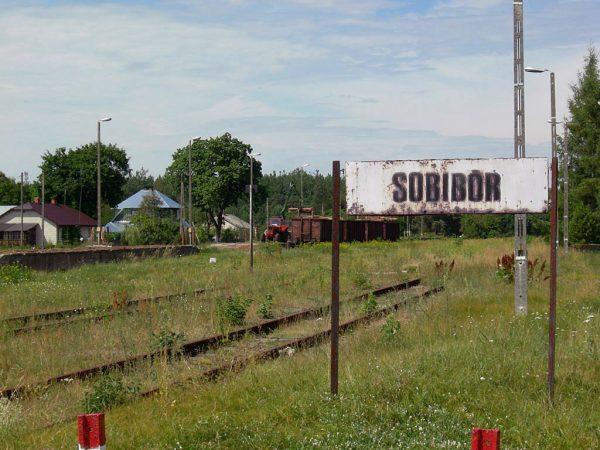 Vernietigingskamp Sobibor.