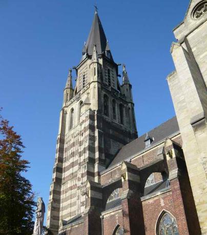 Grote kerk Sittard.