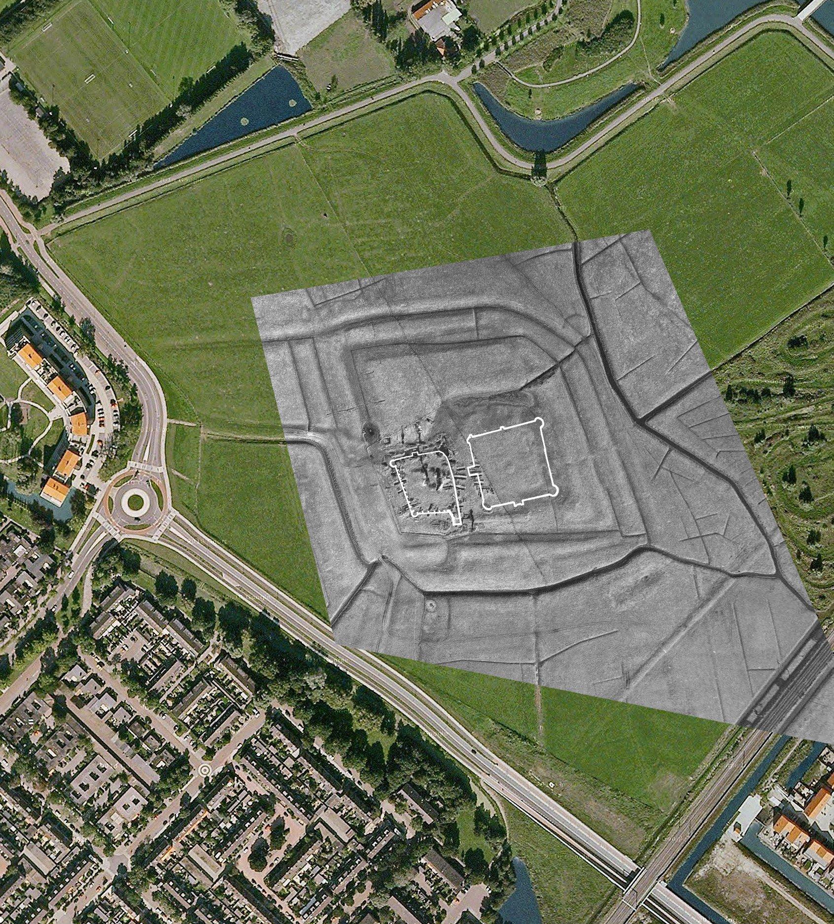 Verborgen kasteel Oud Haerlem blijkt 'enorm' te zijn