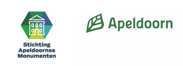 Logo gemeente Apeldoorn en Stichting Apeldoornse Monumenten