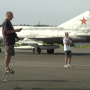 Spot historische vliegtuigen in de buitenlucht nu Catalina gerestaureerd wordt