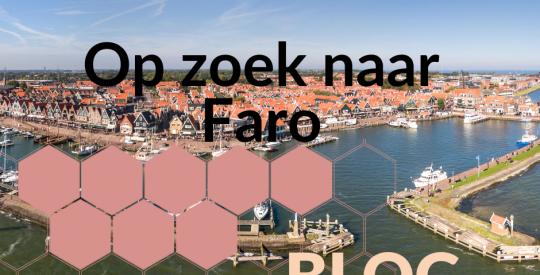 Nieuw blog: Alma op zoek naar Faro