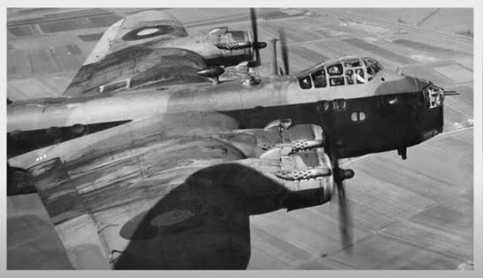 Britse bommenwerper.