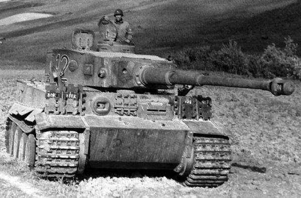 Referentiebeeld. Duitse tank uit Tweede Wereldoorlog.