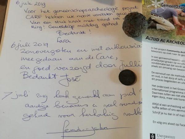 Reacties van bewoners op het CARE-project in Liempde.