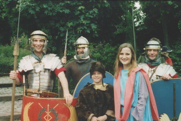 Referentiebeeld. Romeinen en Kelten.