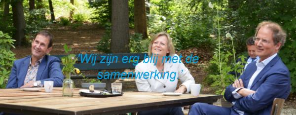 Rob van Muilekom, Adriana Esmeijer en Kees-Jan Dosker.