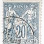 Verloren gewaande Franse postzegel uit 19e eeuw duikt op veiling op
