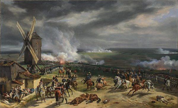 Referentiebeeld. Schilderij van Eerste Coalitieoorlog door Horace Vernet.